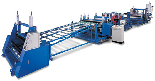 pc solid sheet extrusion line