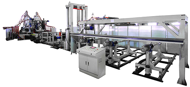pet solid sheet extrusion line