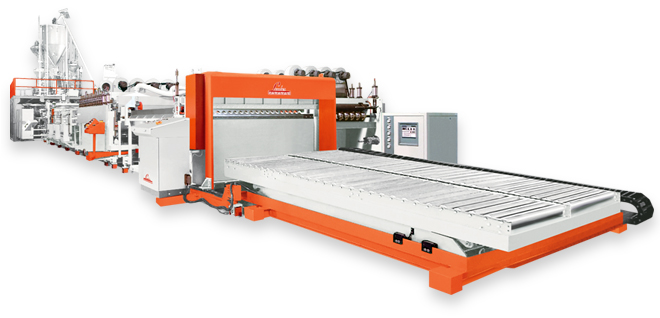 pp solid sheet extrusion line